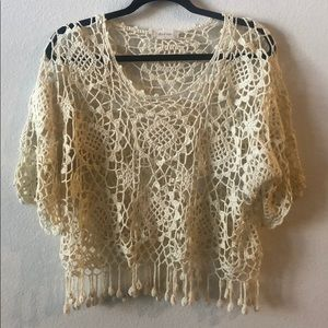 Altar'd state crochet sweater